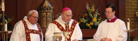 5 Year Mary, Seat of Wisdom Chapel Dedication