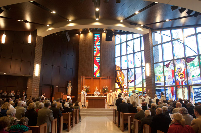 Thomas More College Celebrates Newly Completed Chapel With Dedication Mass