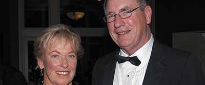 WHY WE GIVE - MARLENE (GEIMAN) ROBINSON '65 AND TED ROBINSON '63