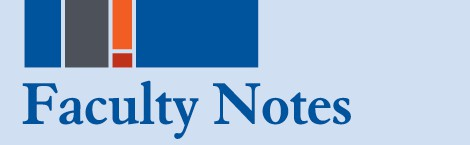 Faculty Notes Fall 2016