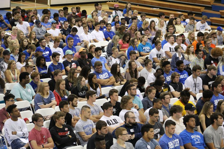 Members of the Thomas More class of 2022