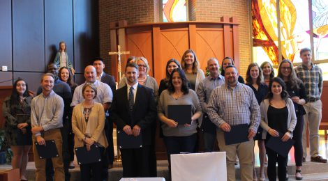 TMC inducts 26 students into Delta Epsilon Sigma for 2018