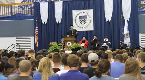 Thomas More College Convocation 2017