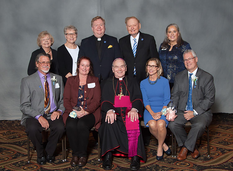 Bishop Hughes Award Winners
