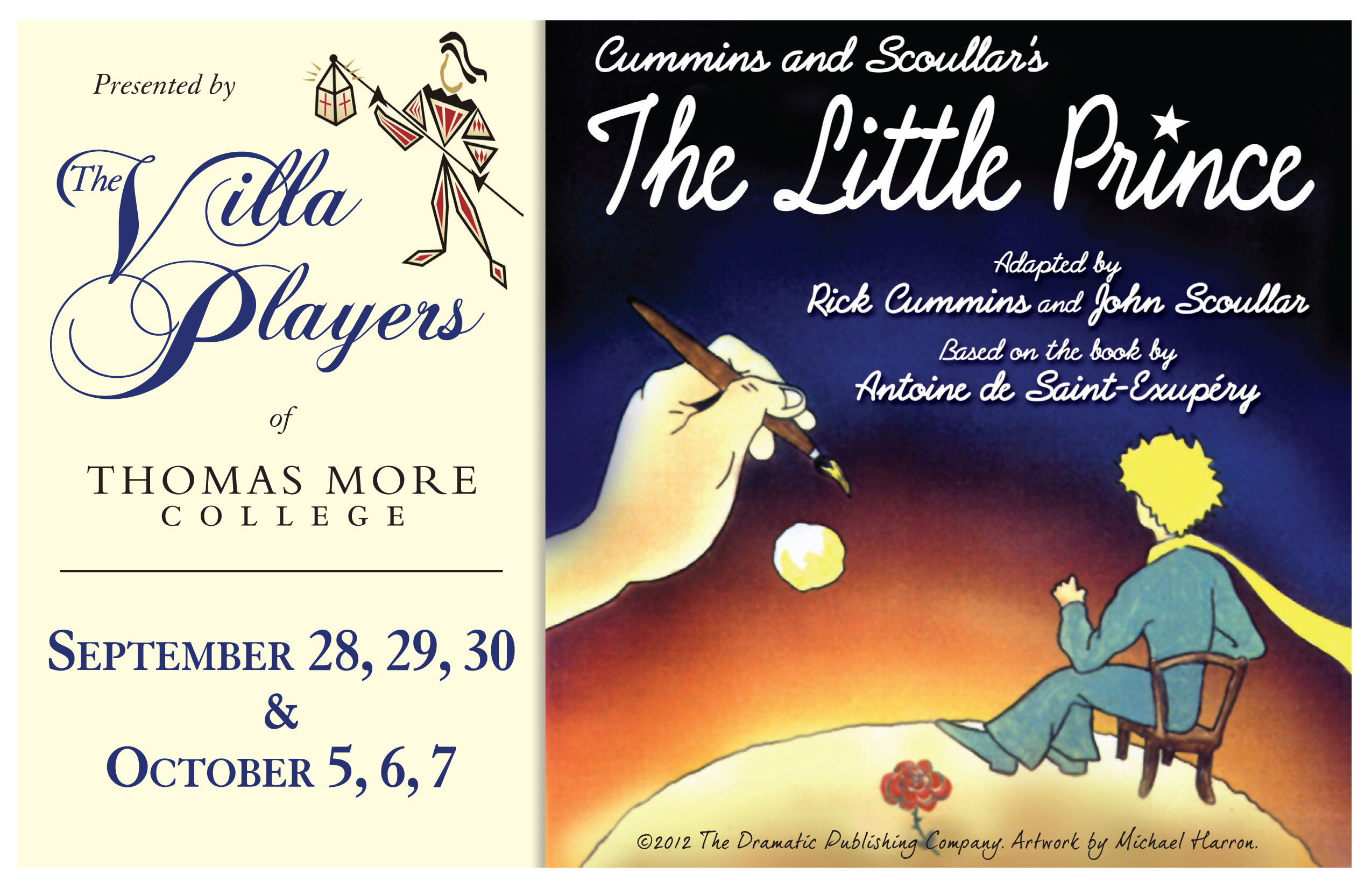 The Little Prince, Presented By The Villa Players of Thomas More College