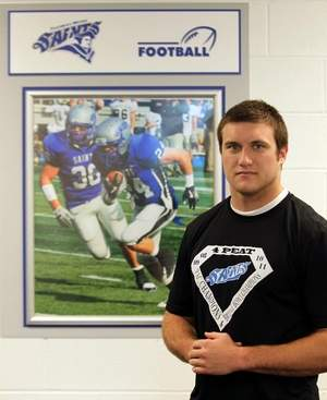 Thomas More football player up for national trophy
