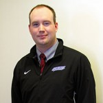 Coor. of Recruitment for the Performing Arts and Assistant Director of Bands Elliott Nickeson