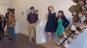 Maddie Pohlgeers, Karen Cress and Jacob Condon were featured in the Semantics Gallery College Invitational in April 2014.