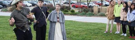 Thomas More College Student Doubles as Civil War Re-enactor