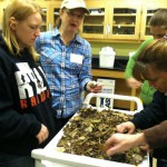 "In a session with Dr. Shannon Galbraith-Kent (Thomas More College, Biological Sciences), high school teachers experience first-hand the ""5Es"" with regards to a leaf litter decomposition activity that compares two different forest communities."