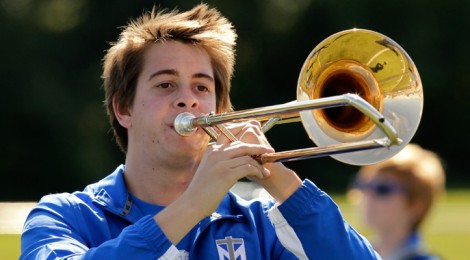 Two Marching Saints Selected for KY Intercollegiate Band