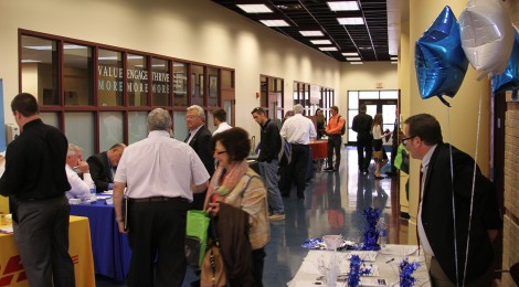 The 2015 TMC Career and Internship Fair welcomed over 40 different employers.