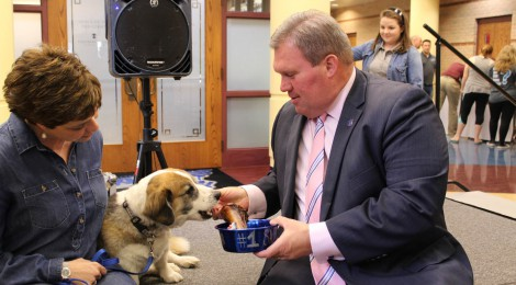 2016 Annual Pig Roast and Tommy, the campus K-9's, Retirement