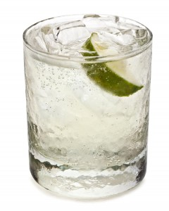 Gin and tonic, the favorite beverage of the female protagonist in The Woman in Cabin 10.