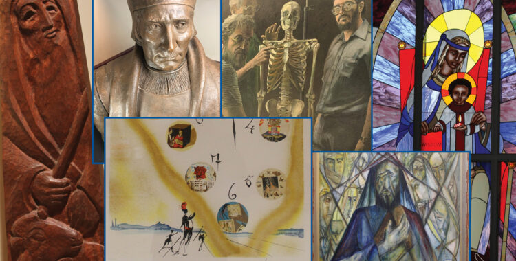 Art@ThomasMore - Stained Glass Windows by Sr. Emmanuel Pieper