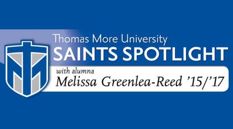 Saints Spotlight - Melissa Greenlea-Reed '15/'17