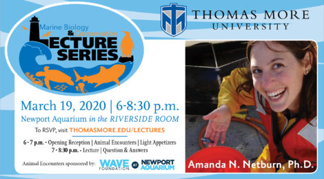 poster for Marine Biology Lecture Series