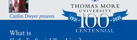 Thomas More Centennial featuring Brad Bursa
