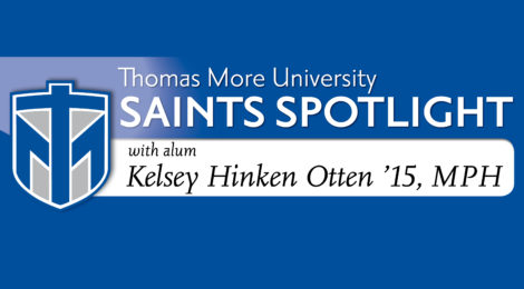 Saints Spotlight - Kelsey Hinken Otten '15