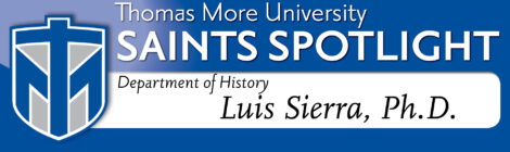 Saints Spotlight - Luis Sierra, Ph.D.