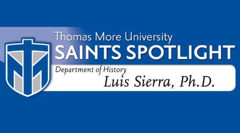 Saints Spotlight - Luis Sierra, Ph.D.