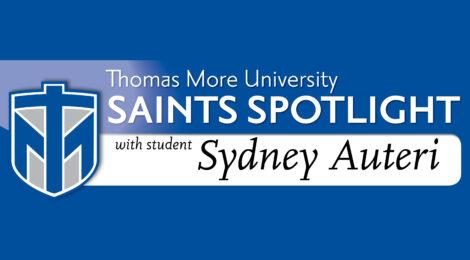 Saints Spotlight - student Sydney Auteri