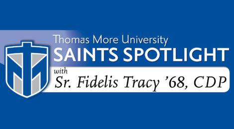 Saints Spotlight - Sr. Fidelis Tracy '68, CDP