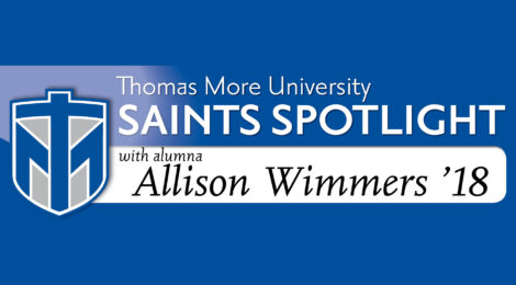 Saints Spotlight - Allison Wimmers '18