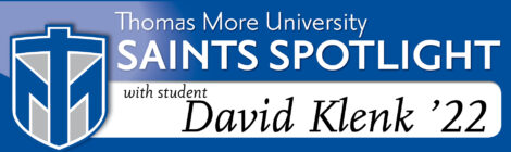Saints Spotlight - student David Klenk