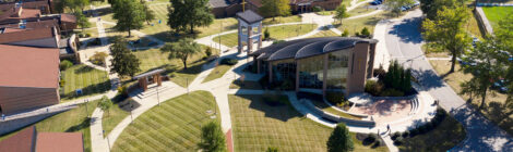 aerial shot of Thomas More