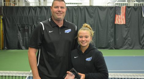 Women's Tennis, a PAC Program Best Performance