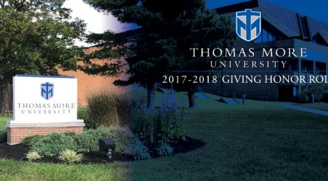 Thomas More University 2017-2018 Giving Honor Roll