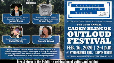 Annual Outloud Festival Celebrates Local Authors at Thomas More University