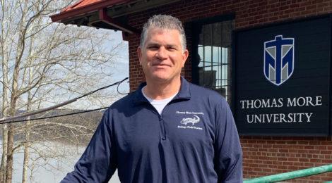 Saints Spotlight - Professor and Biology Field Station Director Chris Lorentz, Ph.D.
