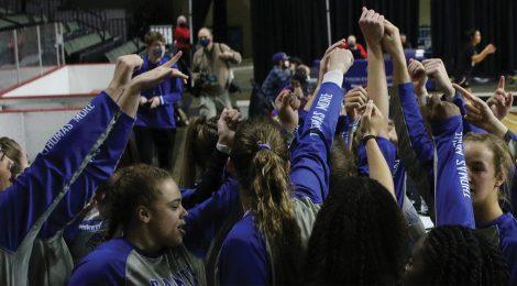 NAIA 2021 Women's Basketball Runner-up Thomas More Saints